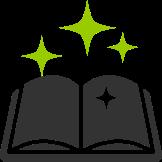 Book grey green